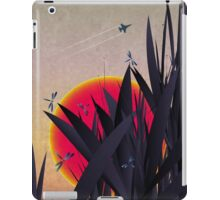 Red Heat (with Dragonflies) iPad Case/Skin