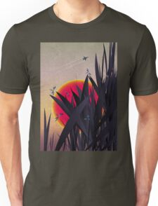 Red Heat (with Dragonflies) T-Shirt