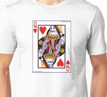 Freddie Mercury Queen Card Unisex T-Shirt