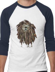 Lion Of Judah Men's Baseball ¾ T-Shirt