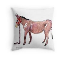 The Humble Opera Star  Throw Pillow