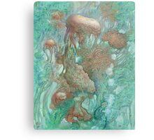 Blue Alternator, primordial abstraction 2  Metal Print