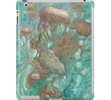 Blue Alternator, primordial abstraction 2  iPad Case/Skin