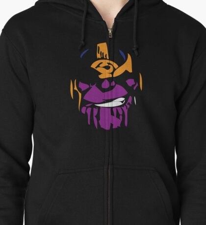 The Mad Titan Zipped Hoodie