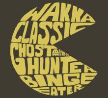 Not So Wordy Ghost Eater by joshmirm