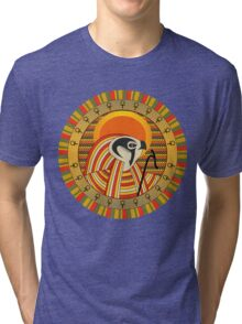 Egyptian god of sun Ra Tri-blend T-Shirt