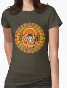 Egyptian god of sun Ra Womens Fitted T-Shirt