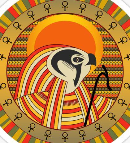 Egyptian god of sun Ra Sticker