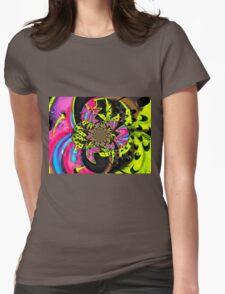 Twisted Graffiti # 9 Womens Fitted T-Shirt
