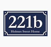 221b - Holmes Sweet Home One Piece - Short Sleeve