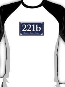 221b - Holmes Sweet Home T-Shirt