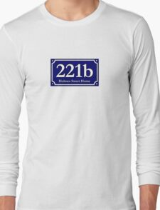 221b - Holmes Sweet Home Long Sleeve T-Shirt