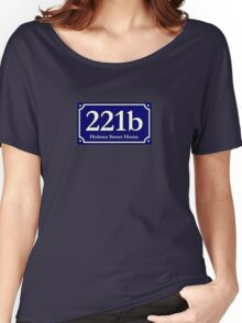 221b - Holmes Sweet Home Women's Relaxed Fit T-Shirt