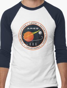 ARES 3 Mission Patch - The Martian Men's Baseball ¾ T-Shirt