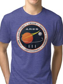 ARES 3 Mission Patch - The Martian Tri-blend T-Shirt