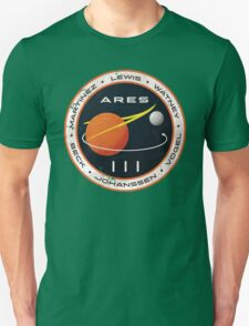 ARES 3 Mission Patch - The Martian Unisex T-Shirt