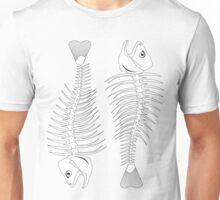 skeleton of fish Unisex T-Shirt