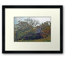 Old House On County Road 24 Framed Print