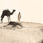 Master and his Camel by Helen Shippey