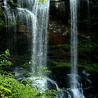 Dry Falls, Highlands North Carolina by Chelei