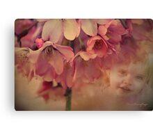 Blossom Baby  Canvas Print