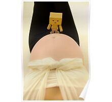 Danbo and my big tummy II Poster