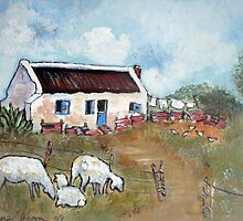 The Old Schoolmaster's House by Marie Theron
