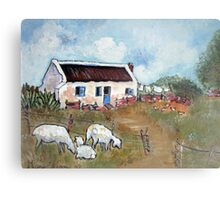 The Old Schoolmaster's House Canvas Print