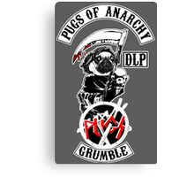 pugs of anarchy Canvas Print