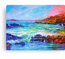 Blustery Bay Canvas Print