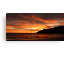 Copper Sunset at Norman Bay Canvas Print