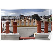 Through the Chimney Pots Poster