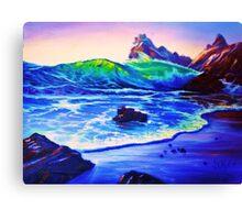 Cold Glass Canvas Print