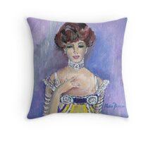 Edwardian Style (1900 - 1914) Throw Pillow