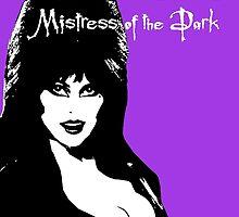 Elvira Mistress of the Dark by SailorMeg