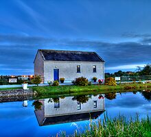 Ticket House on The Royal Canal by Nicola Lee