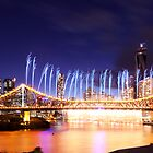 The Iconic Riverfire Falls by David de Groot