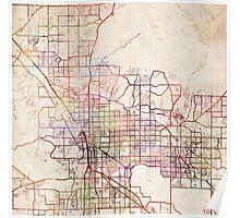 Tucson map Poster