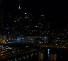 City lights - Melbourne by Emily H