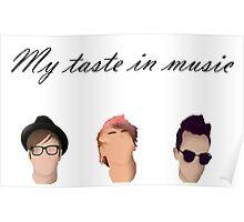 My Taste In Music Poster