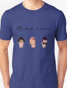 My Taste In Music Unisex T-Shirt