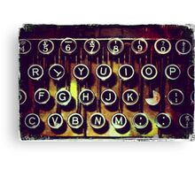 Enigma - Typewriter I Canvas Print