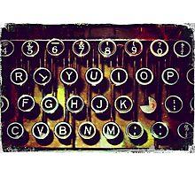 Enigma - Typewriter I Photographic Print