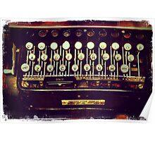 Enigma - Typewriter II Poster