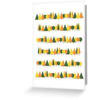 Treeline Card Greeting Card