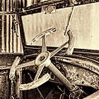 VINTAGE STEERING WHEEL by Helen Akerstrom Photography