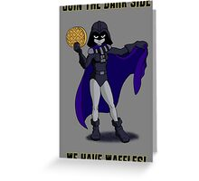 Darth Raven Greeting Card