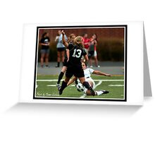UIndy vs Old Dominican Womens Soccer 7 Greeting Card