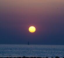 Sunrise on the Adriatic Sea by Antonio Paliotta