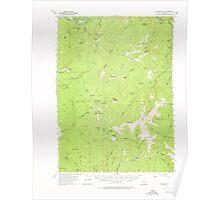 USGS Topo Map Oregon Collier Butte 282347 1954 62500 Poster